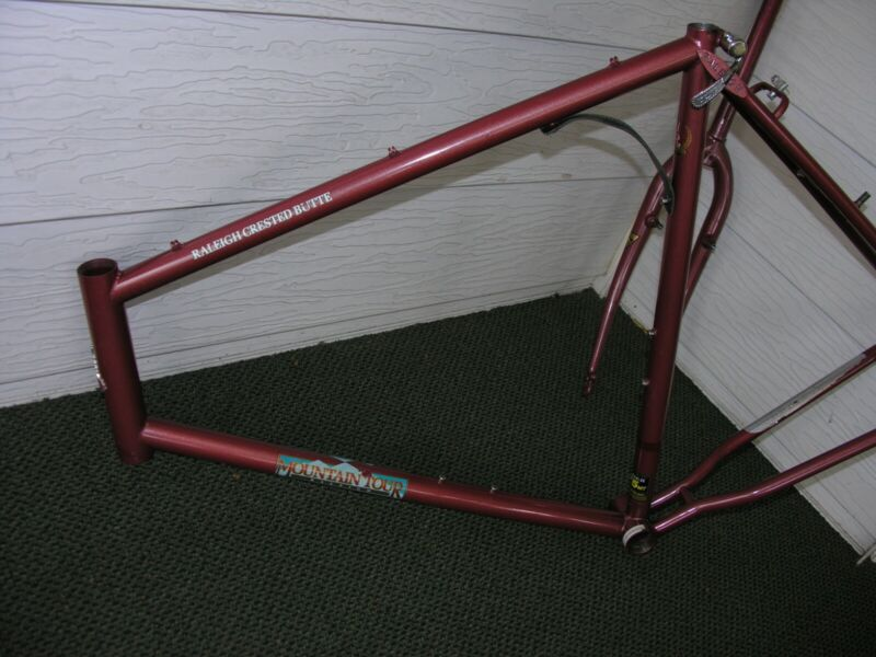 Vintage 1986 Raleigh 575 Mountain Tour Crested Butte Frameset 58cm