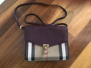 100% Authentic Burberry side bag