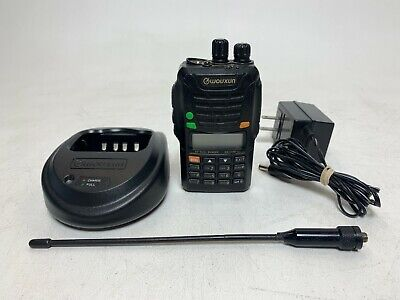 Wouxun Kg-uv6d V2 High Power Dual Band Uhfvhf Two-way Radio W Charger 2