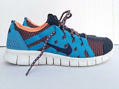 Nike free powerlines+ thunder blue dark obsidian training workout lifestyle 10.5
