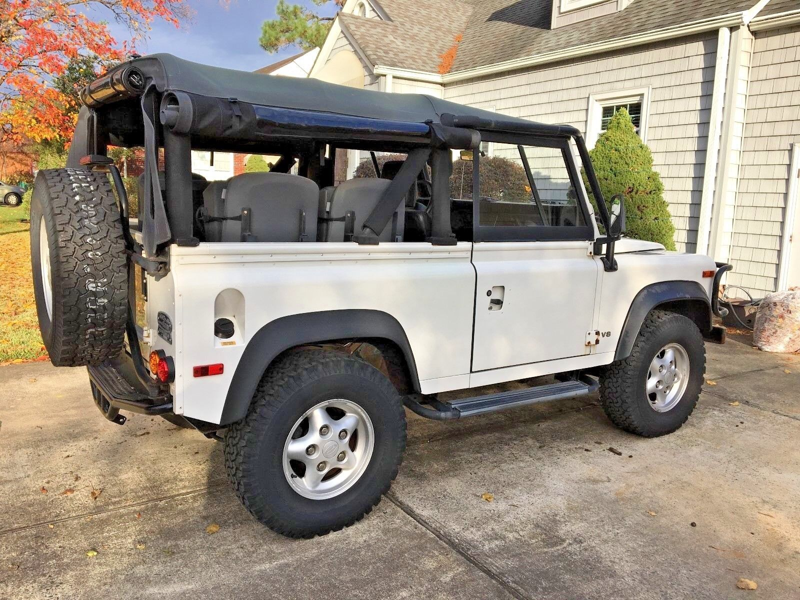 1997 Land Rover Defender  1997 Land Rover Defender 90 Convertible