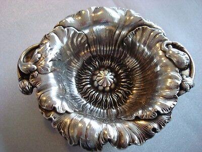 REED BARTON sterling silver ~ ART NOUVEAU 1 NUT BOWL ~ LES CINQ ~ 8 AVAIL~ RARE!