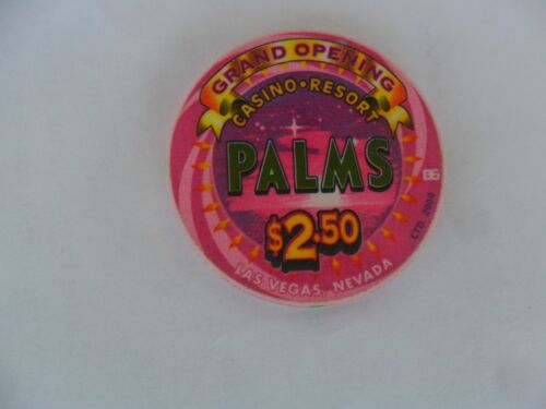 $2.50 PALMS GRAND OPENING CHIP
