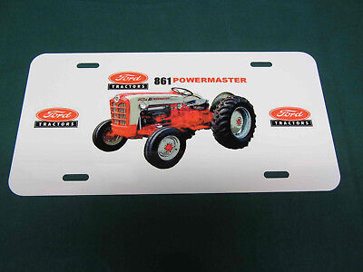 Ford 861 Tractor License Plate
