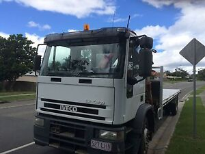 TRUCK IVECO CRANE TRUCK WITH INTRODUCTION TO PERMANENT WORK. Regents Park Logan Area Preview