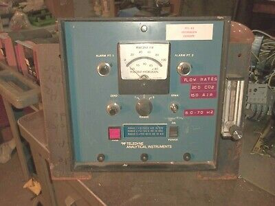 Teledyne Analytical Instruments 327 Hydrogen Analyzer 110120v 5060hz I5