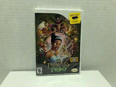 Disney's - The Princess And The Frog (Nintendo Wii, 2007) -  New Factory