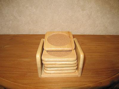 *NEW* BOIS Set 6 sous-verres 10x10cm Coasters