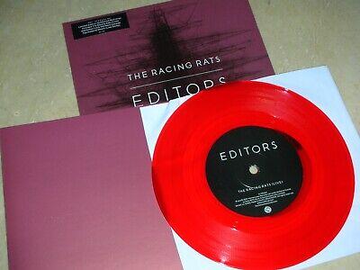 "Usado, Editors ""The Racing Rats"" 2007 UK Part 1 Red Vinyl Numbered 7"" Single comprar usado  Enviando para Brazil"