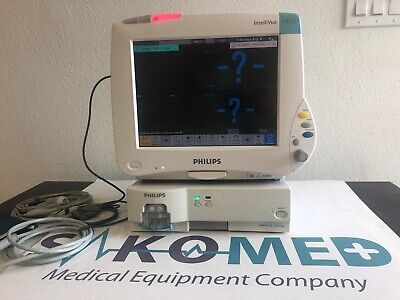 Philips IntelliVue MP50 Patient Monitor with M3001A and GAS G5 Module