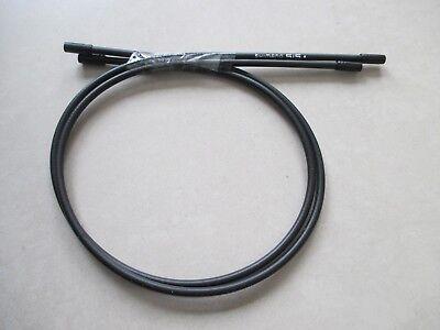 2X Shimano Bike Engranaje Cable de Freno Funda 560mm