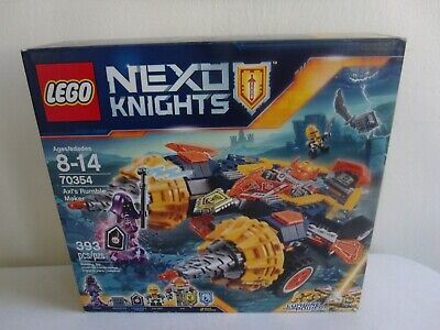 Lego - Nexo Knights - Axl's Rumble Maker - #70354 - 393 Pieces - New Sealed
