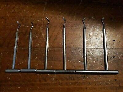 T-handle Dental Hand Tool Set Of 6 Potts 124