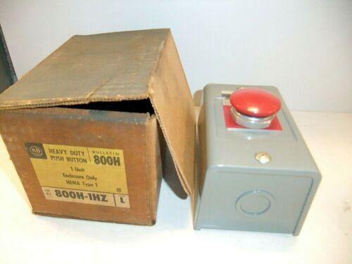 Allen Bradley 1 Unit Enclosure 800h-1hz