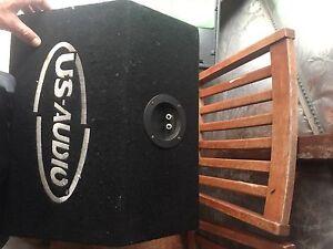 "10"" sub in box Croudace Bay Lake Macquarie Area Preview"