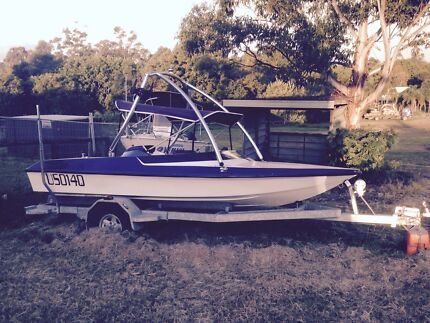 Lewis ski boat for swap or sale  Oxenford Gold Coast North Preview