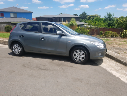 2010 hyundai i30 with 7+ months rego for $5800 ono.