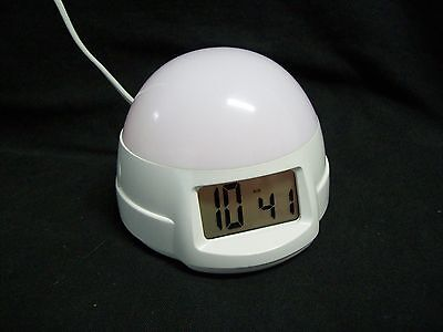 Timelinks LED Color Changing Electric Alarm Clock Model