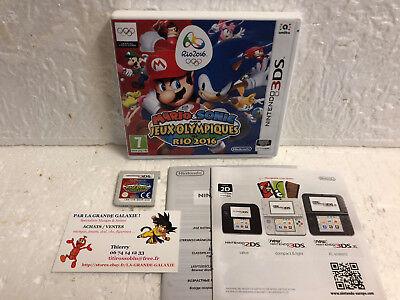 Jeu Vidéo Nintendo 3DS / 2DS Mario & Sonic aux Jeux Olympiques de RIO 2016 VF