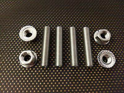 Suzuki GT500 GT750 Bike Stainless exhaust studs and Flange nuts