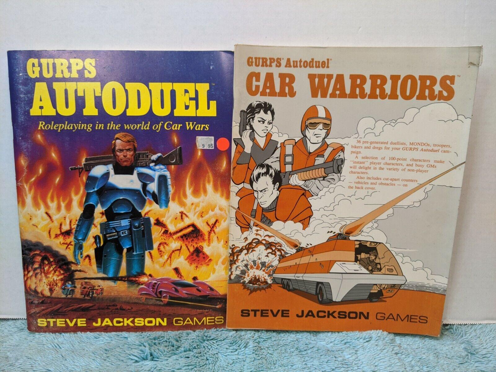 GURPS Autoduel 1986 and Car Warriors 1987 bundle.