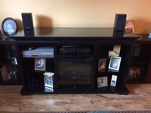 FIREPLACE/ ENTERTAINMENT