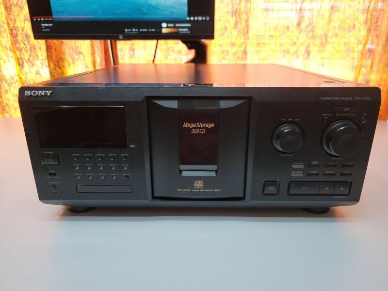 Sony CDP-CX350 Mega 300 Disc CD Changer REFURBISHED NEW Belts