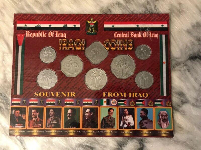 IRAQI SOUVENIR COIN SET FROM IRAQ