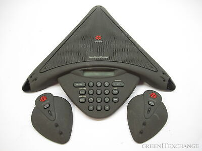 Polycom Soundstation Premier 2201-01900-001 W 2 Mics