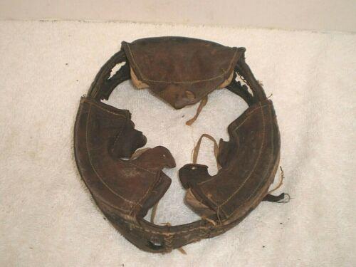 Original WW1 German M1916 leather helmet liner, size 62/64