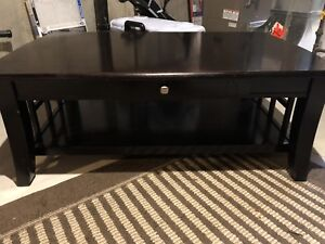 Coffee Table with 2 End Tables - Espresso