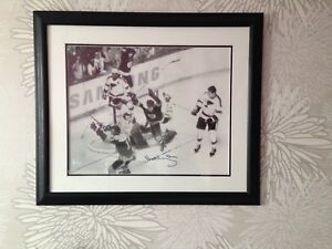 """Bobby Orr signed 16x20"""" photo """"Moment in Time"""""""