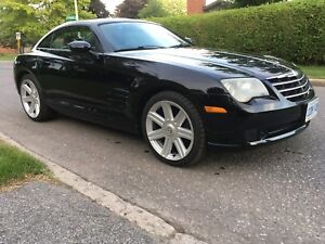 BEAUTIFUL BLACK LOW MILEAGE CHRYSLER CROSSFIRE MOVING MUST SELL