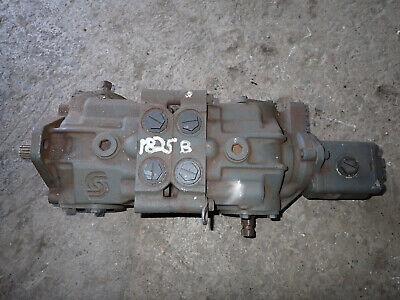 Case 1825b Skid Steer Loader Tandem Hydraulic Hydrostatic Pump 222633a1 222633a2