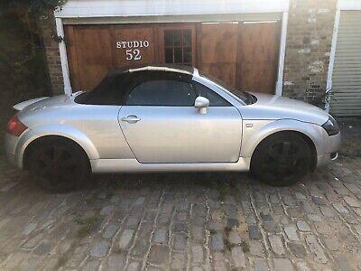 2001 MK1 Audi TT Quattro Convertible 2 owners 86000 miles.