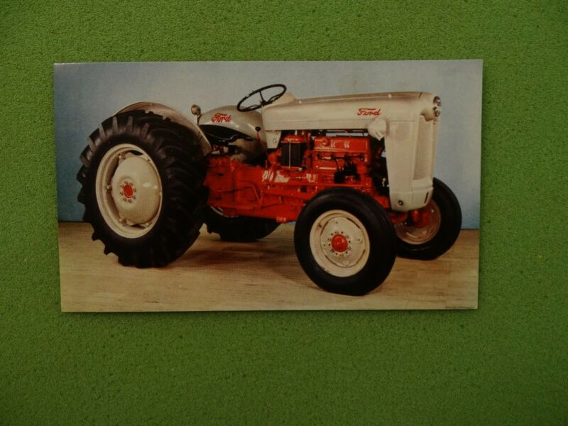 Original 800 Ford Tractor Advertising Postcard