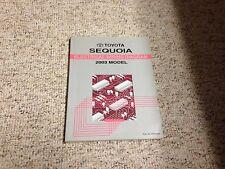 2003 Toyota Sequoia Electrical Wiring Diagram Manual SR5 ...