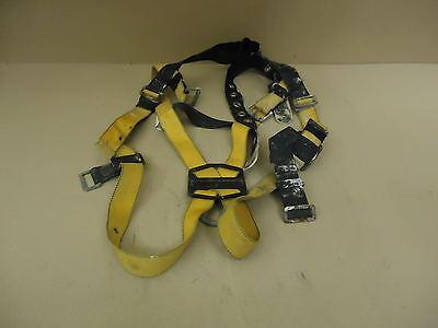 Titan Safety Harness Yellowblack Full Body T4500uaku Nylon Metal