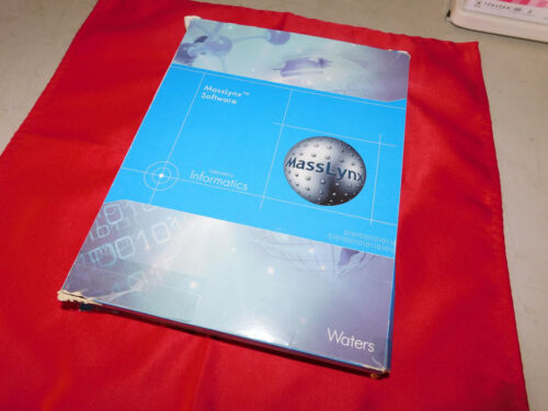 Waters MassLynx v4.1 Software Kit