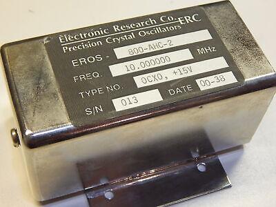 Erc Eros-800-ahc-2 Precision Oscilator 10mhz 15v