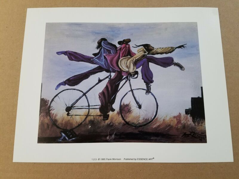 1.2.3 Frank Morrison  African American 8x10 lithograph