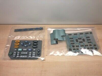 Fluke 192b 196b 196c 199b 199c Scopemeter Keypad Contact Board With Keys