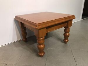 Nearly new solid wooden side table