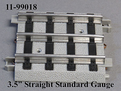 "MTH STANDARD GAUGE REALTRAX 3.5"" STRAIGHT TRACK Lionel Tinplate 11-99018 NEW"