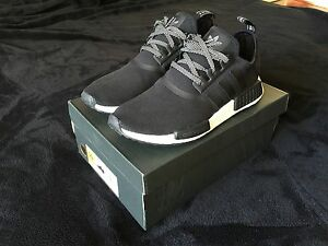 Adidas NMD R1 S31505 Black Reflective 10US DS