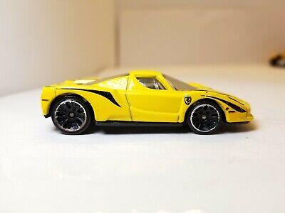 Hot Wheels Enzo Ferrari Yellow 2013 All Stars LOOSE READ