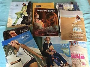 Vintage catalogues