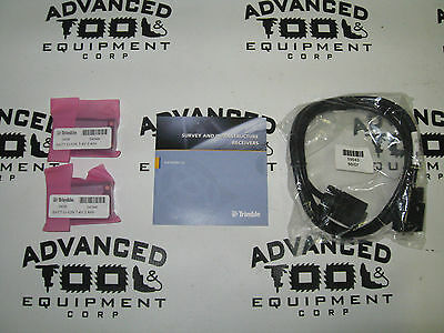 New Trimble 50589-10 R8 Gnss R6 5800 Rover Battery Cable Cd Kit W 54344