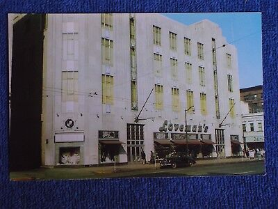 Birmingham AL/Loveman's Department Store-Street View/1930s Car/Chrome (Department Stores Birmingham)