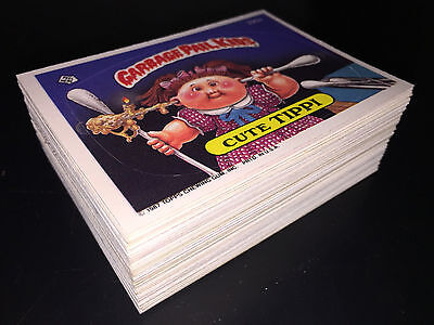 GARBAGE PAIL KIDS 9th SERIES 9 COMPLETE 88-CARD SET 1987 +FREE WRAPPER